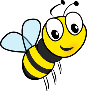 vector royalty free Bee clipart. Clip art at clker