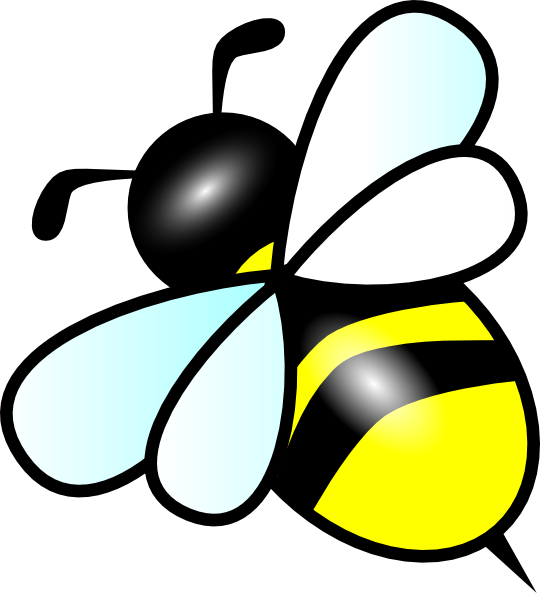 image royalty free download Bee clipart. Image of flying small.