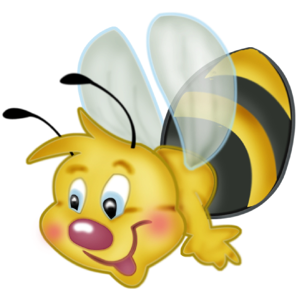 picture transparent library Bumble clipart bee love. Valentine bees honey free