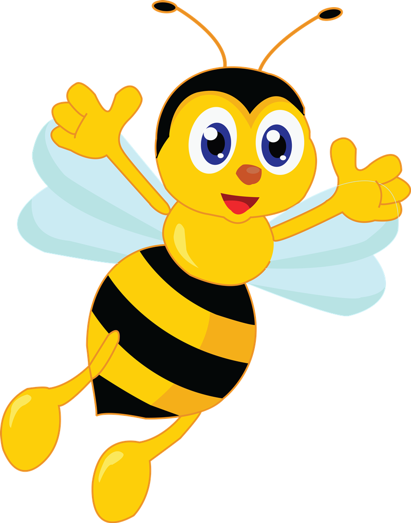clipart freeuse download Cartoon Bee Clipart