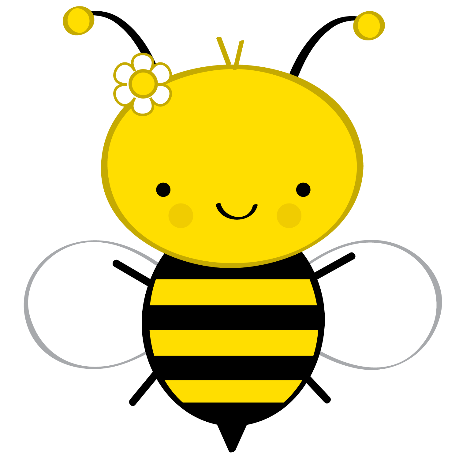 png black and white download Bumblebee clipart honey bee. Abelhinhas png minus dibujos