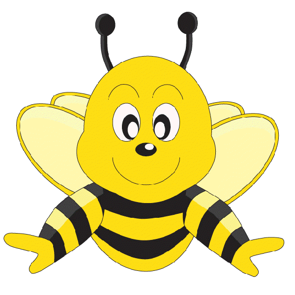 download Bees clipart beautiful. Funny cartoon valentine love.