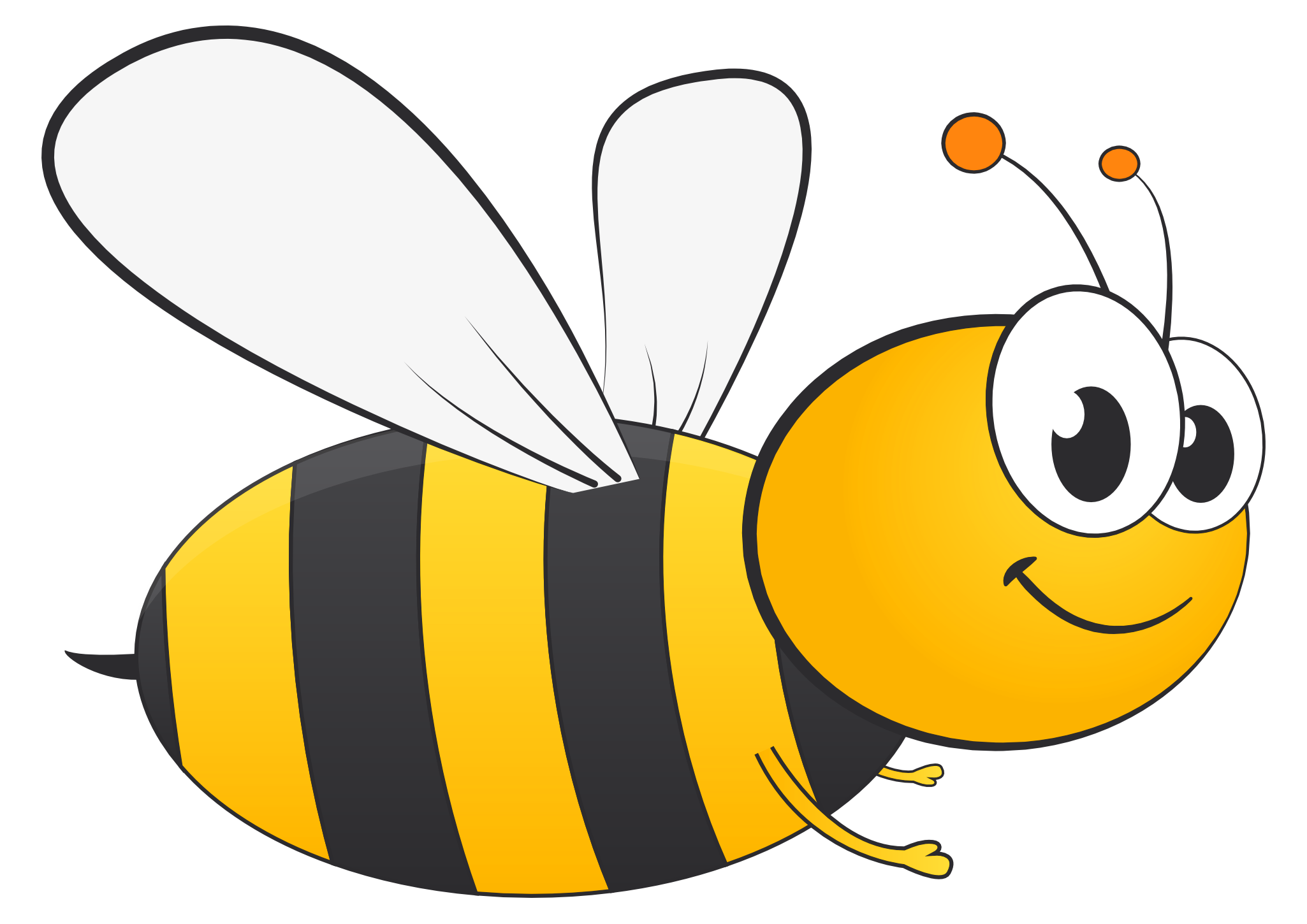 image royalty free Bee Clipart Transparent