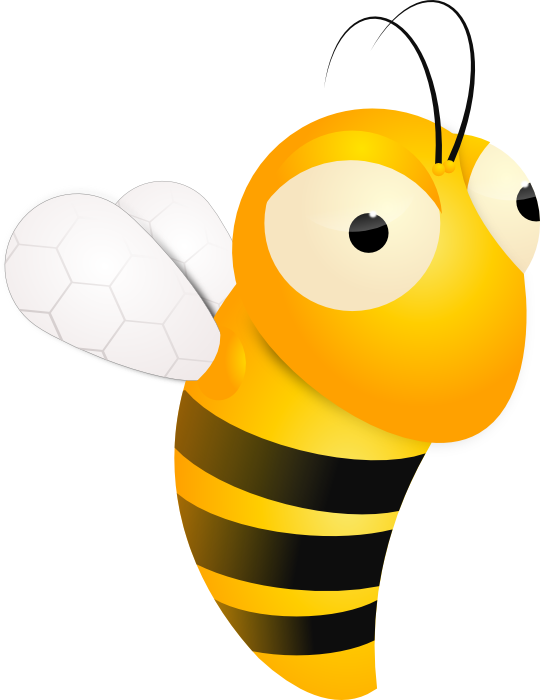 free library Bumble clipart small bee. Hive queen free on