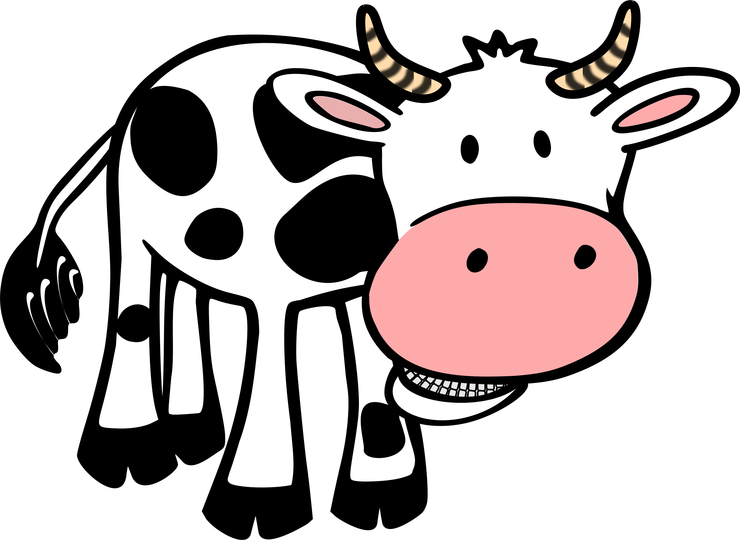 clip transparent Dairy cow free on. Beef clipart