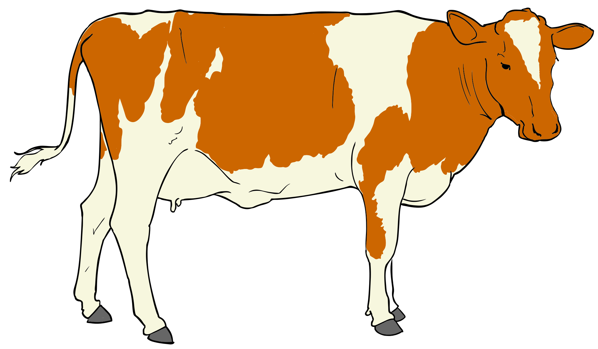 freeuse download File cow svg wikimedia. Beef clipart