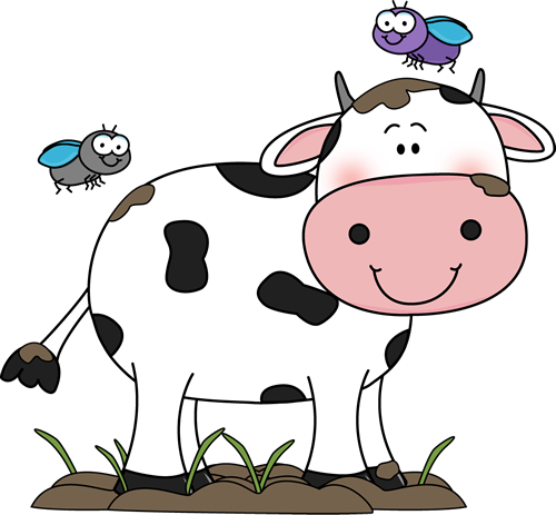 graphic black and white library Beef clipart. Cute cow clip art