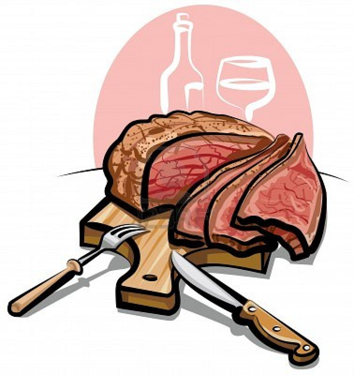 banner library Free download best on. Beef clipart prime rib.