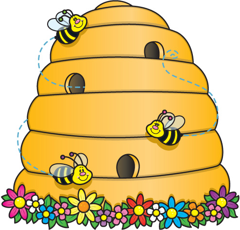 svg transparent stock Free bee hive pictures. Beehive clipart
