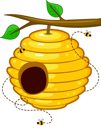 image freeuse Beehive clipart.  collection of png