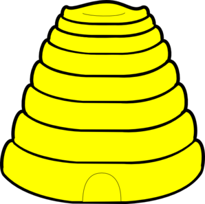 banner library library Clip art at clker. Beehive clipart bee nest.