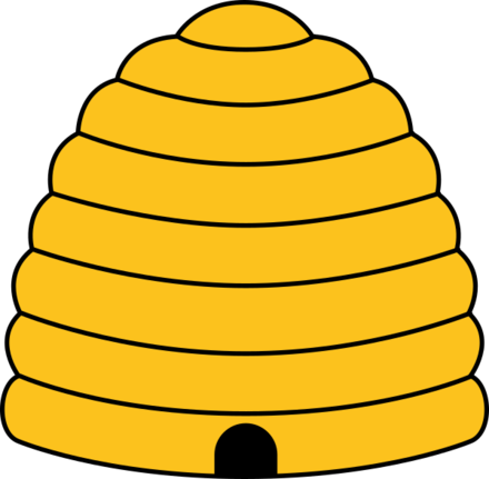 clip art stock Beehive clipart deseret. State of wikiwand the.