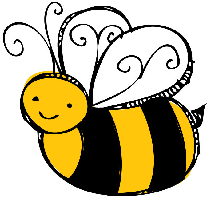 graphic black and white library Bee pencil and in. Beehive clipart spring.