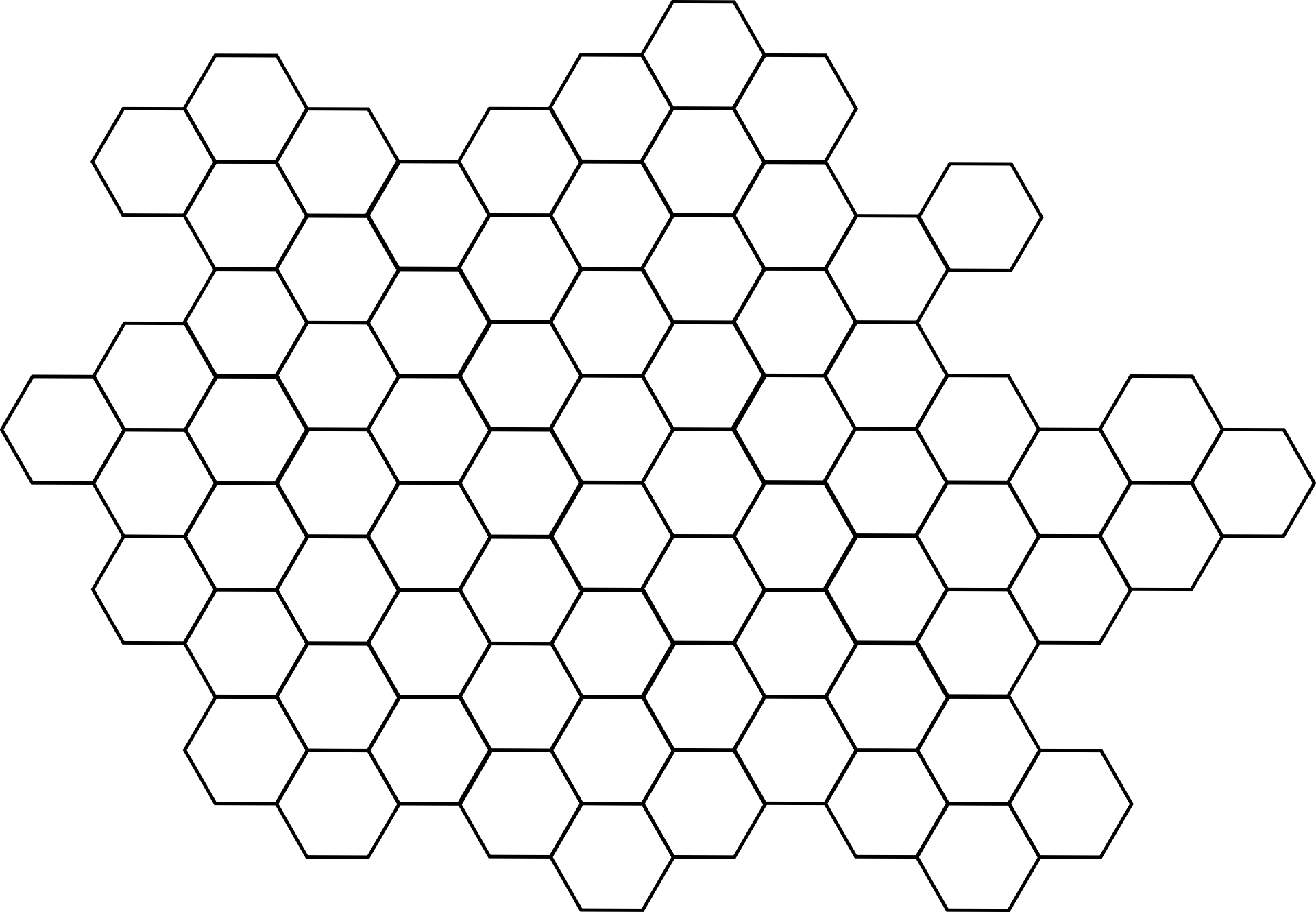 banner transparent Honeycomb grid hexagon Patterns