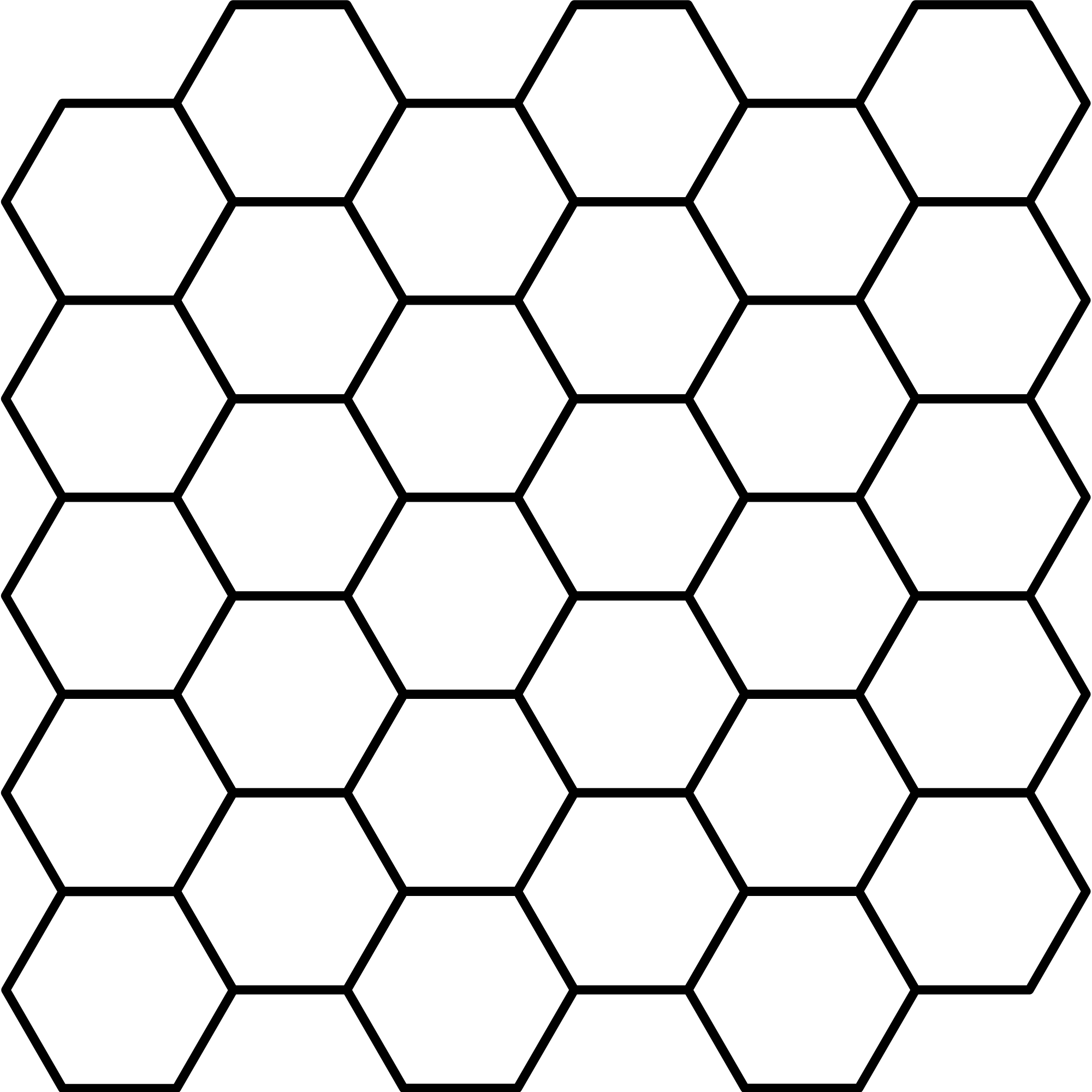svg black and white stock transparent hexagon symmetrical #105891973