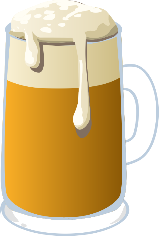 svg royalty free stock Beer clipart beer man. Free mug clip art.