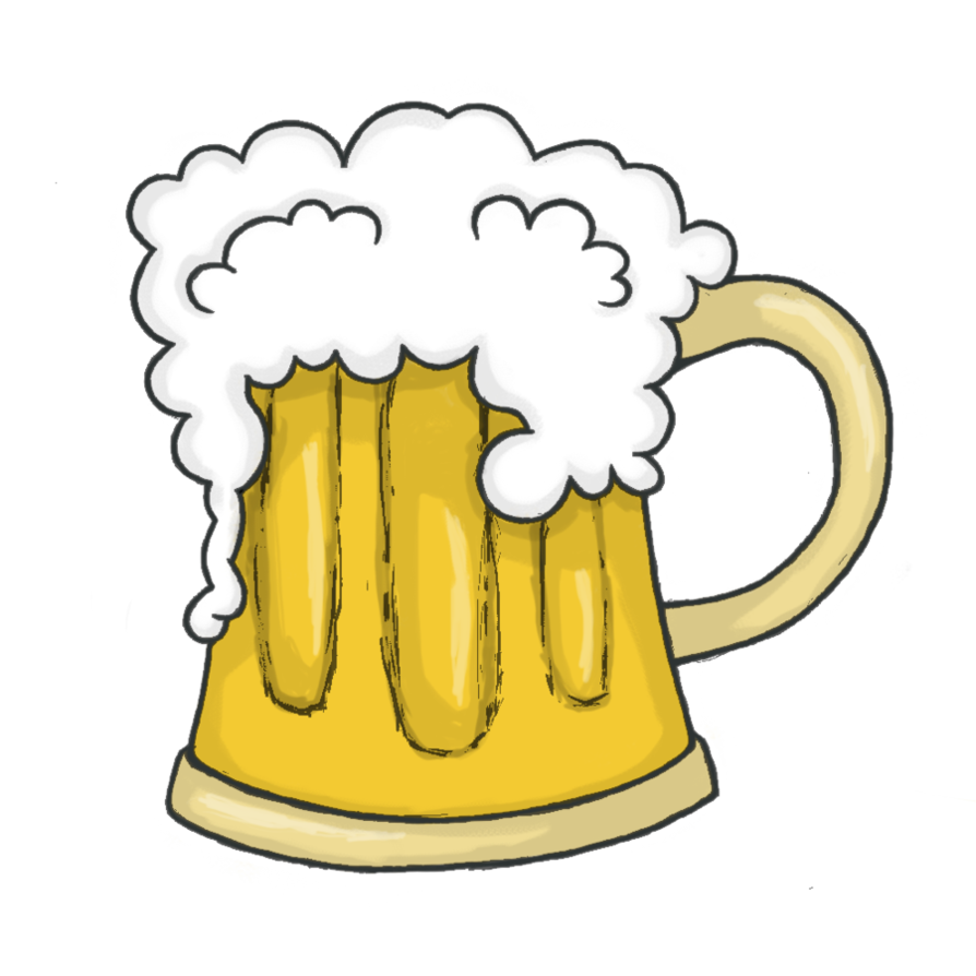 svg With clip art image. Beer clipart beer man.