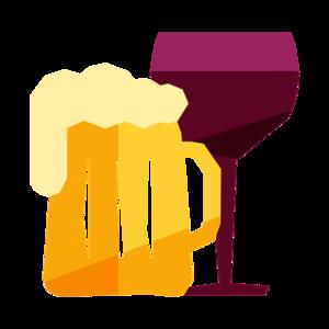 jpg freeuse library Beer clipart beer wine. The poppy market spirits.