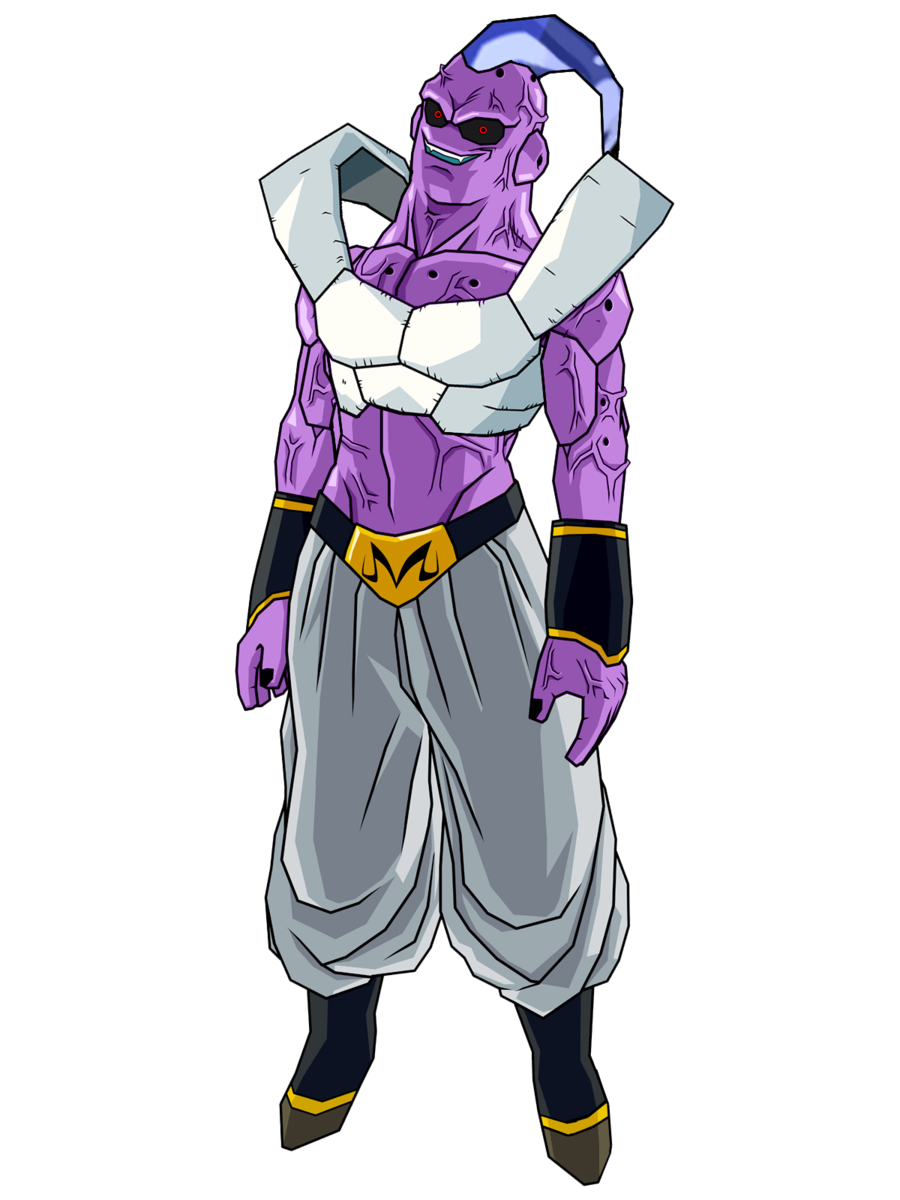 svg freeuse stock Super Buu Frieza Absorbed