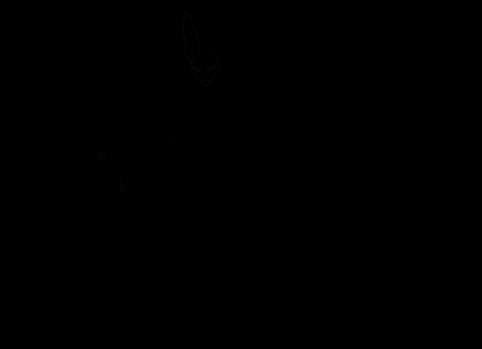 clip art download Vegeta and goku ssgss. Beerus drawing full body