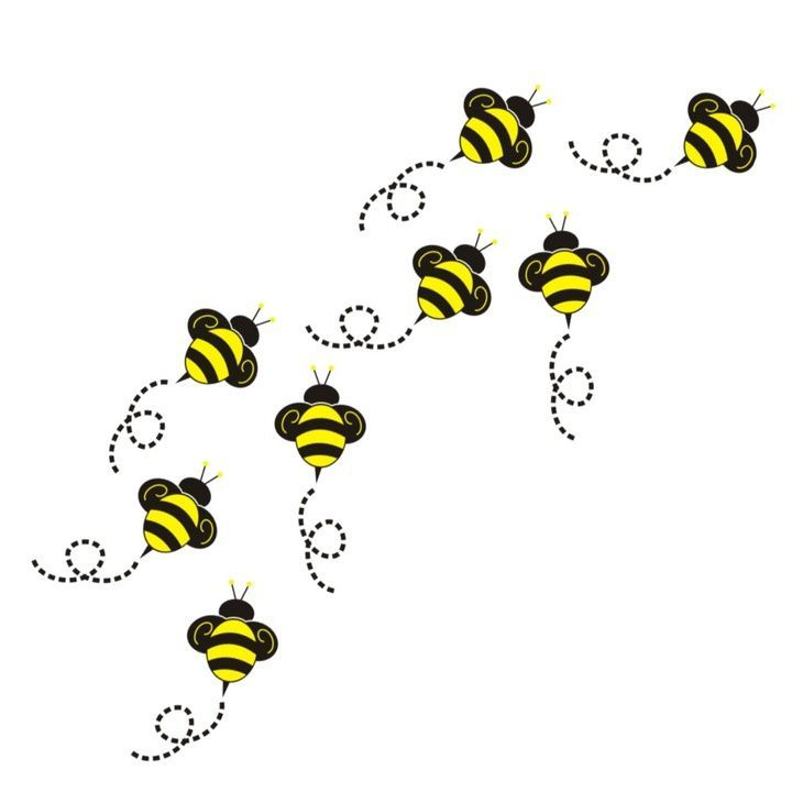 clip art free download Bee clip art drawing. Bees clipart