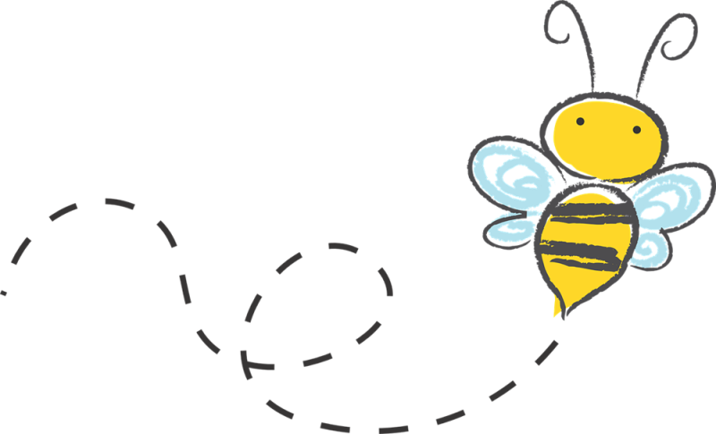 banner download  collection of bee. Bees clipart