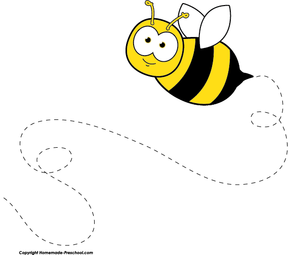 jpg freeuse library Bees clipart. Free bee click to