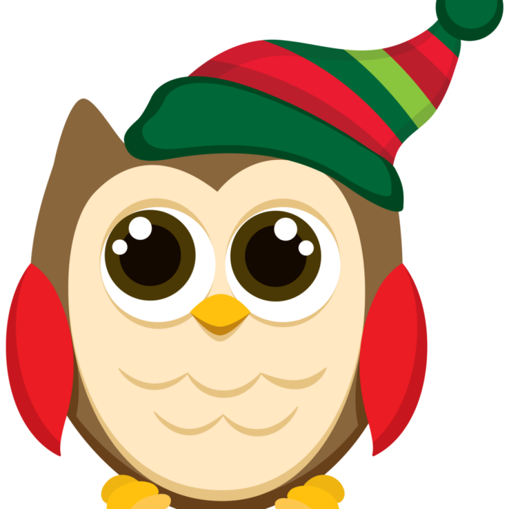 image royalty free Bees clipart christmas. Owl bee hatenylo com.
