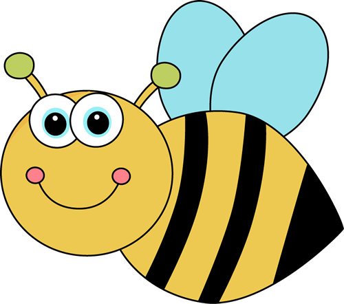 free library Cute cartoon bee clip. Bumble clipart spring.