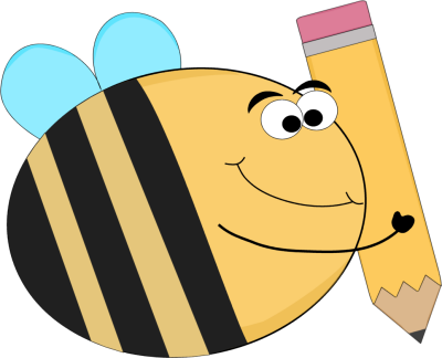 banner library The hive st mary. Bees clipart geography bee.