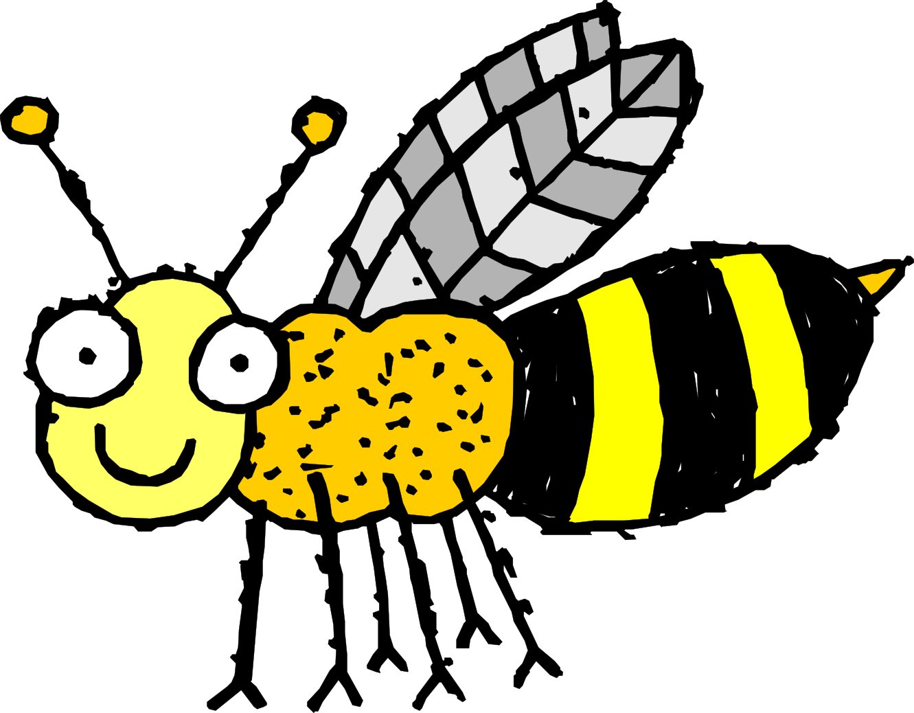 clipart Bumblebee clipart tiny bee. Free clip art drawings