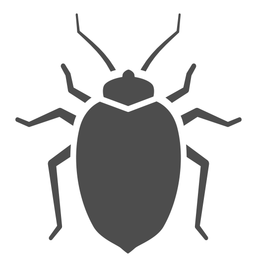 clipart black and white stock Beetles bed bug free. Bugs clipart darkling beetle
