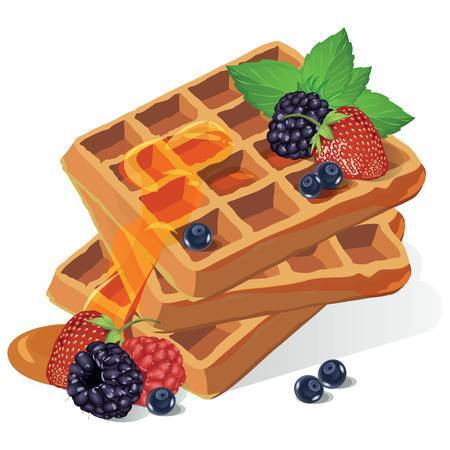transparent library Belgian waffle clipart. Portal