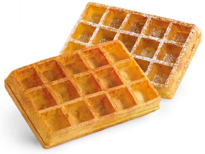 vector transparent Ecofrost frozen waffles from. Belgian waffle clipart