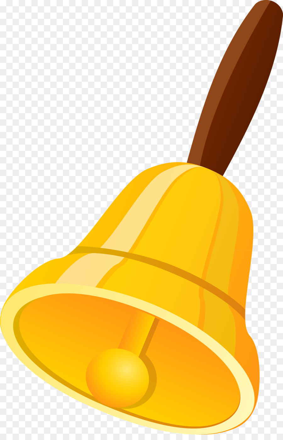 image freeuse library School yellow product line. Bell clipart.