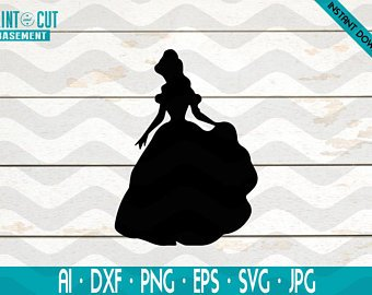 picture free stock Etsy . Belle svg free
