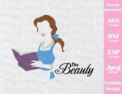 clipart library stock Belle svg reading. Pin by danielle kellogg