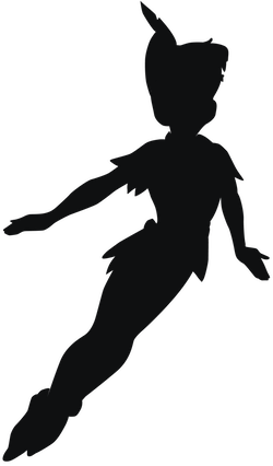 clipart freeuse Belle svg silhouette tattoo. Peter pan coisas pinterest