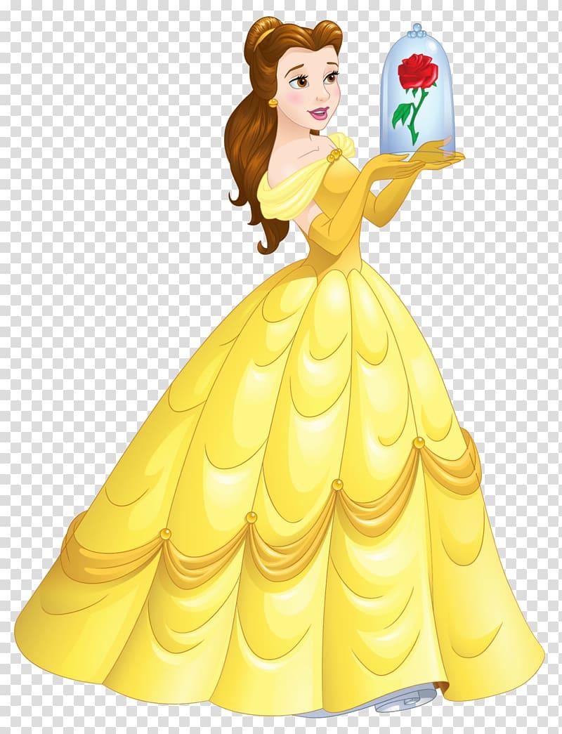 svg royalty free stock Belle transparent. Beast mrs potts disney.
