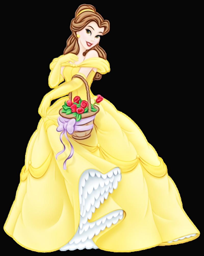 image black and white download Cinderella ariel beast princess. Belle transparent.