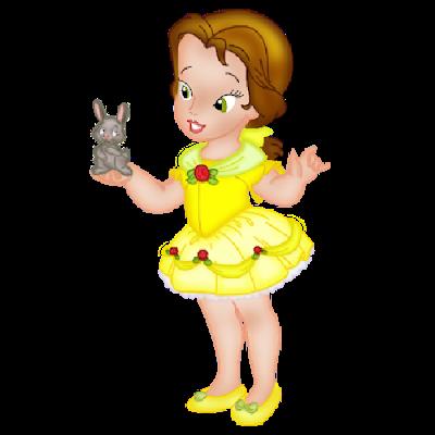 svg freeuse download Little princesses disneybabyprincess . Belle transparent baby princess