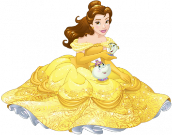 black and white Belle transparent background. Disney princess png images