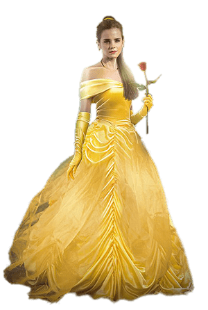 royalty free download Belle transparent beauty and the beast. Emma watson png stickpng