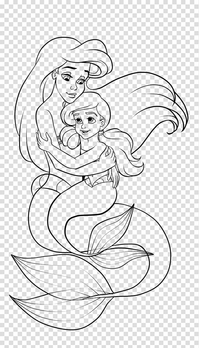 clip free download Ariel melody coloring mermaid. Belle transparent book drawing