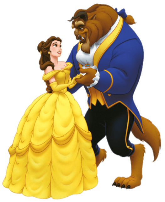 clip art freeuse download Beauty and the animation. Belle transparent dance with beast