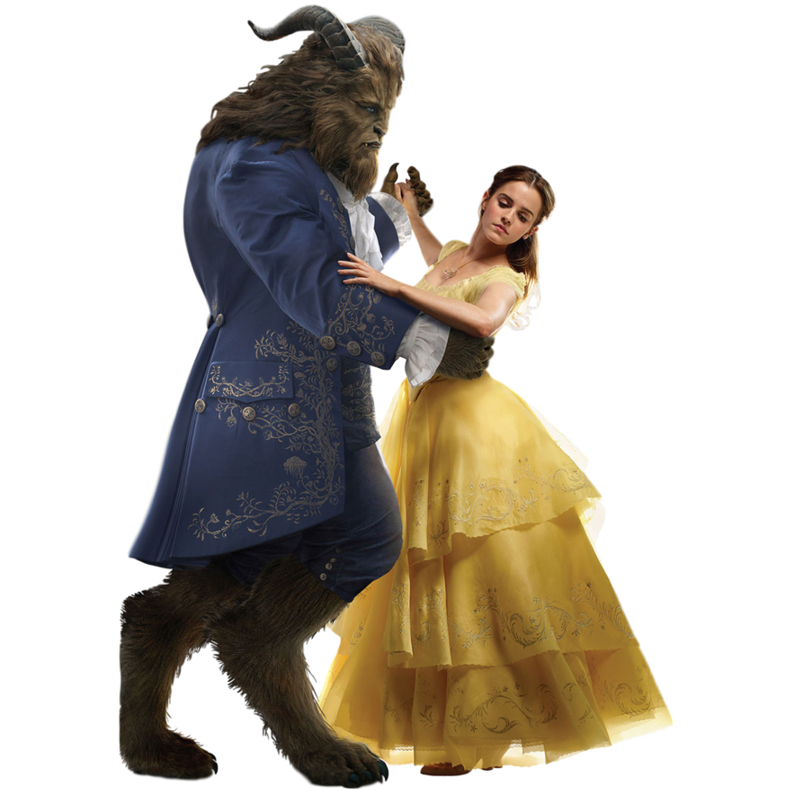 picture freeuse stock Belle transparent dance with beast. Disney s beauty and
