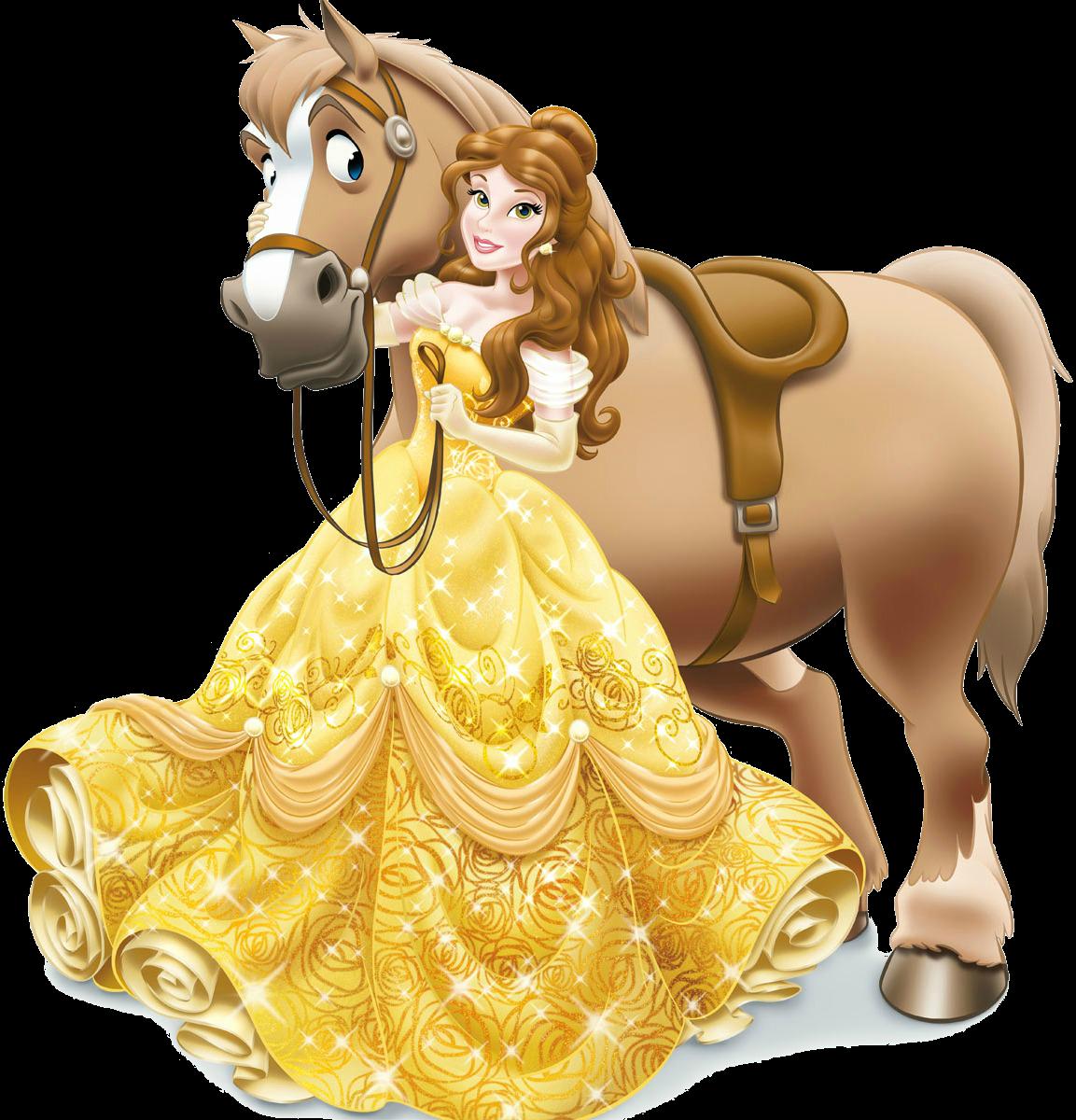 clip transparent download Image with png disney. Belle transparent horse