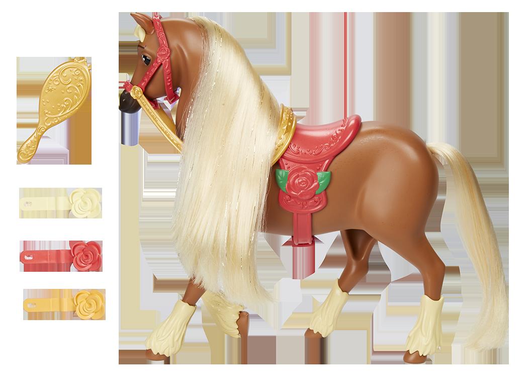 transparent stock Disney princess pony fashion. Belle transparent horse