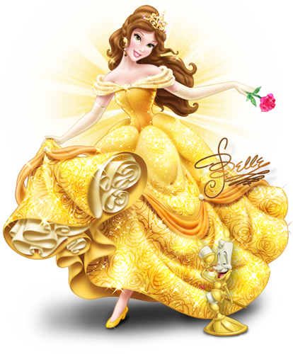 graphic royalty free stock Belle transparent princes. Gallery beauty and the