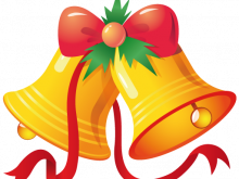 clip royalty free Bells clipart. Christmas free to use.
